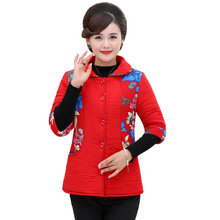 Ethnical Pattern Puffer Vests Women Oriental Half Sleeve Quilted Waistcoat Female Red Black Green Floral Padded Vest Autumbn 4XL vintage floral pattern velveteen panel waistcoat