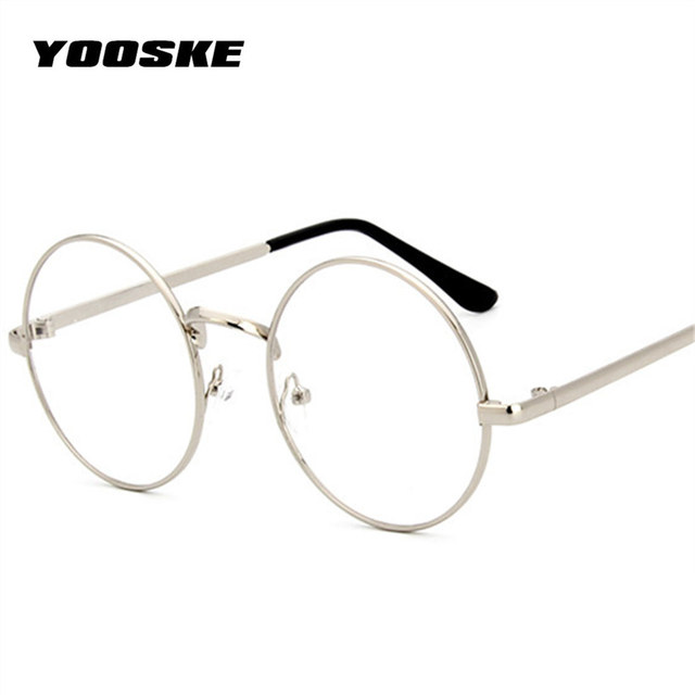 Aliexpress.com : Buy YOOSKE Round Spectacle Glasses Frames Glasses ...