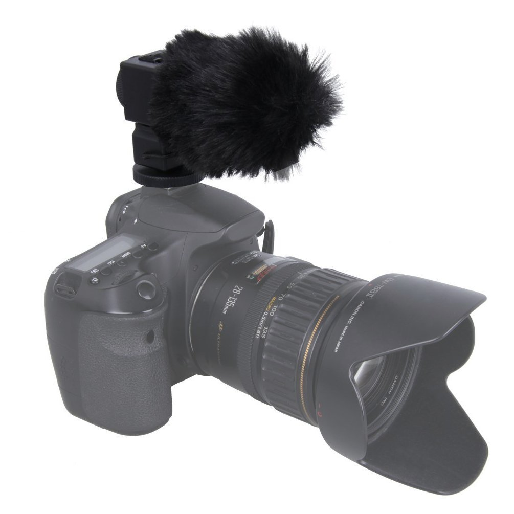 TAKSTAR SGC 698 Photography Interview Recording Microphones MIC for Nikon for Canon Camera DSLR Camcorder With Cleaning Cloths