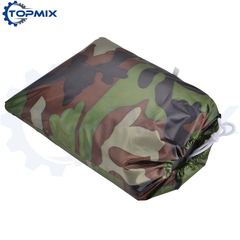 High Quality Universal XL XXL XXXL Motorcycle Motorbike Outdoor Cover Camouflage Color Waterproof Dustproof UV Resistant Cover