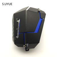 MT07 FZ07 Water Coolant Recovery Tank Shielding Guard Frame Side Cover Protector For Yamaha MT 07