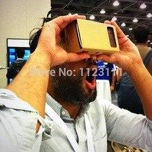 DIY картонные очки google виртуальной реальности VR очки