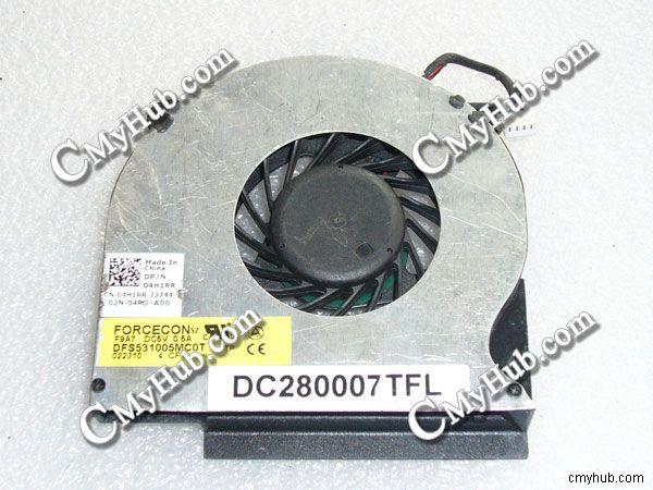 Вентилятор охлаждения процессора для Dell Latitude E6410 E6510 DFS531005MC0T F9A7 04H1RR 4H1RR DC280007TFL