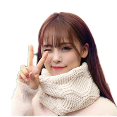 Winter Women 39 s Warm Scarves Fashion Geometric Plaid Scarf LICs For Women Spring Female Solid Knitted LIC Women Scarf Collar in Women 39 s Scarves from Apparel Accessories