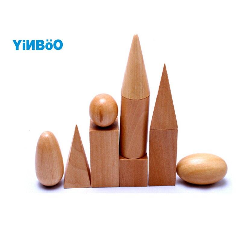 Детские игрушки Монтессори Тайна сумка сенсорных деревянные игрушки блока обучения и образования обучения блоки