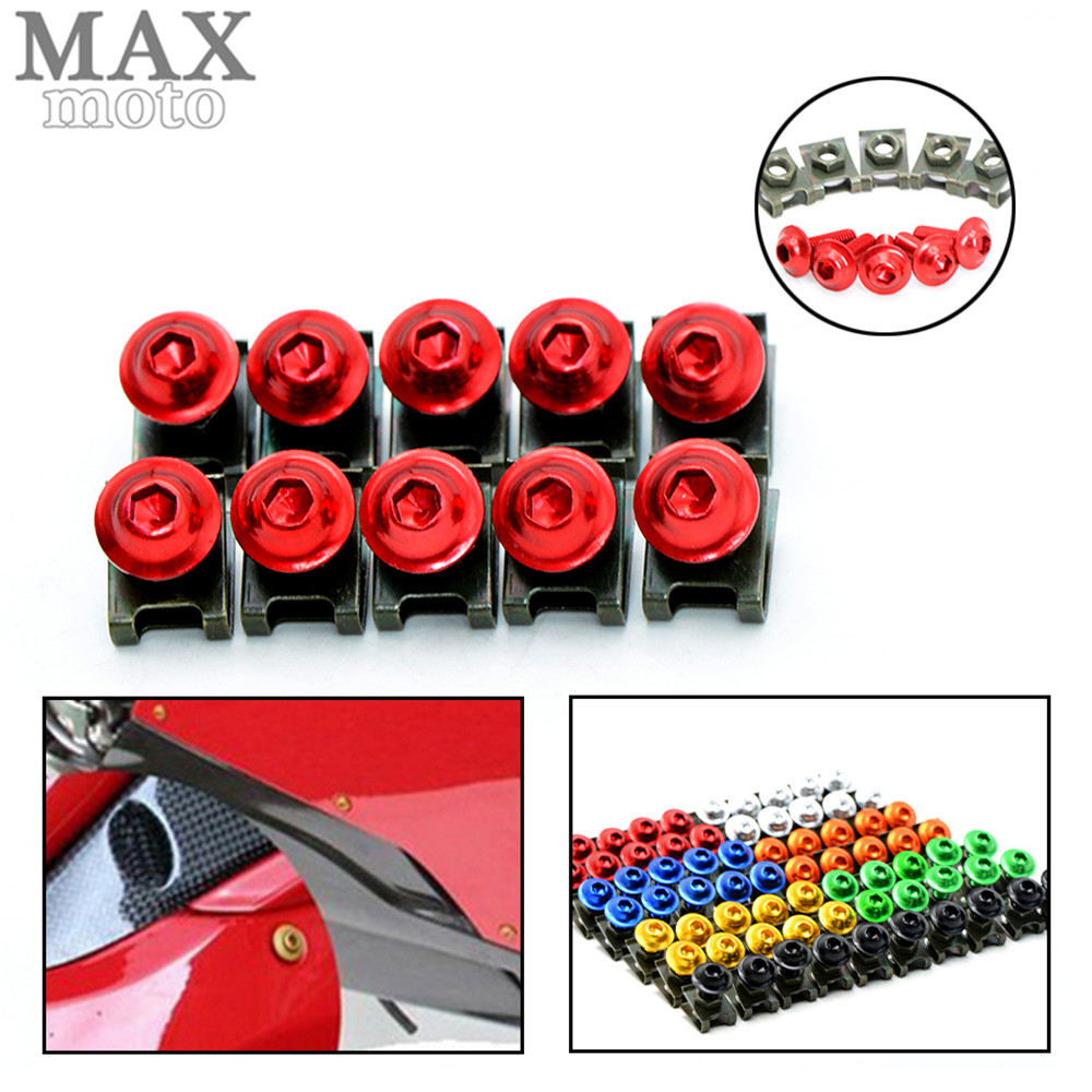 6MM Motorcycle Accessories Fairing body Bolts Screws for YAMAHA FZ6 /600 FAZER /S2 2004 2005 2006 2007 2008 2009 2010 aftermarket free shipping motorcycle parts eliminator tidy tail for 2006 2007 2008 fz6 fazer 2007 2008b lack