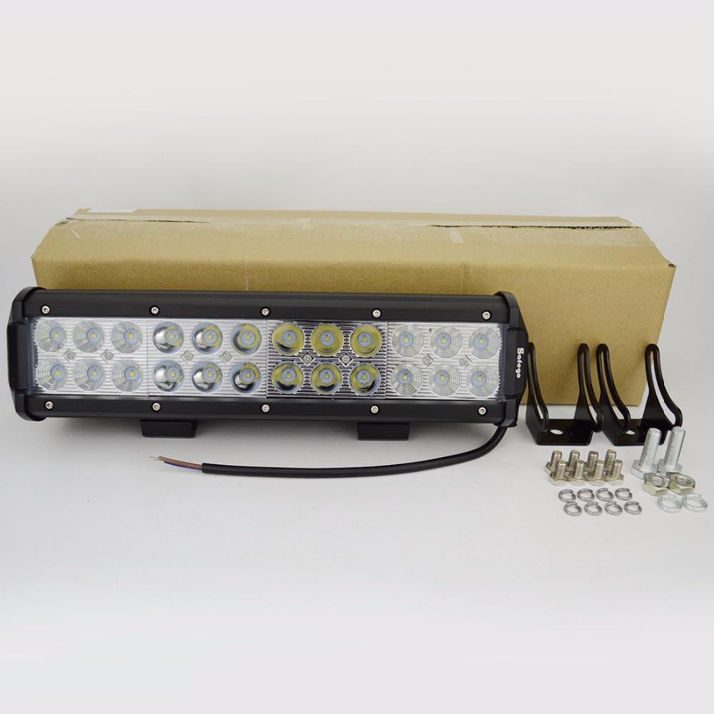 1X72 W 12 v dipimpin pekerjaan ringan bar combo balok desain 24 v 72 - Lampu mobil - Foto 6