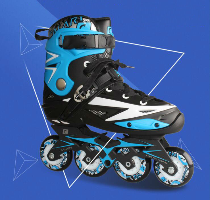 High quality!Recommend Adult Inline Skate Shoes for Young Man Girl Daily Street Brush Skating Roller Skates