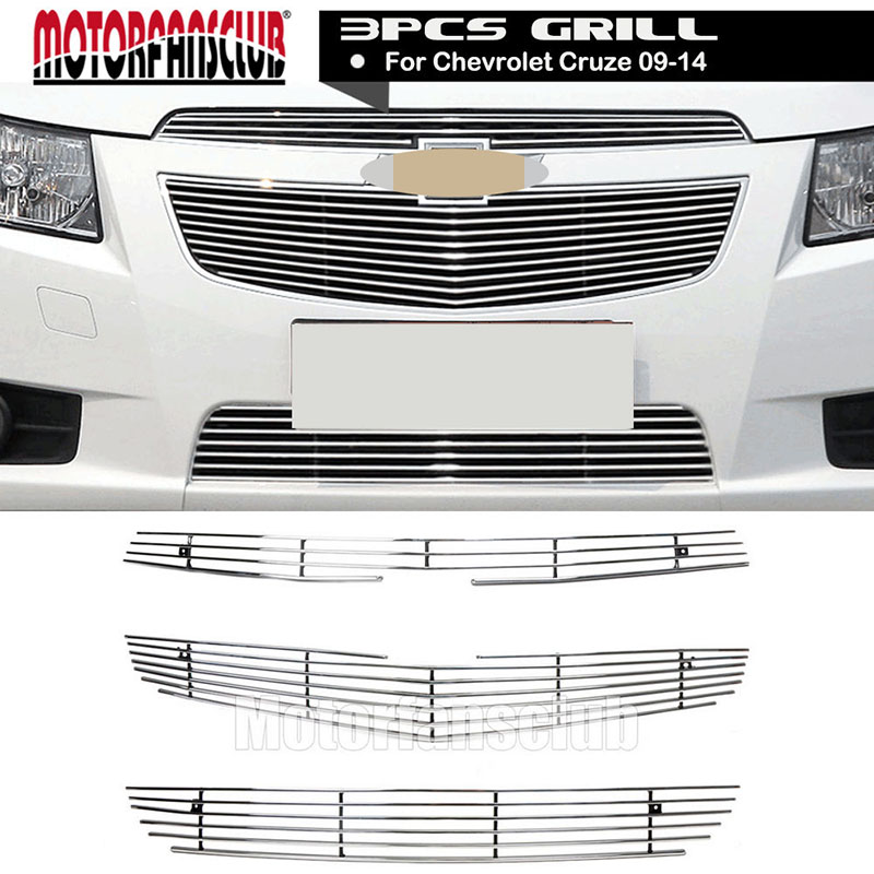 Front Aluminum Alloy Billet Hood Insert  Cover Grill For Chevrolet Cruze 2009 2000 2010 2011 2012 2013 2014 автомобильный dvd плеер oem dvd chevrolet cruze 2008 2009 2010 2011 gps bluetooth bt tv
