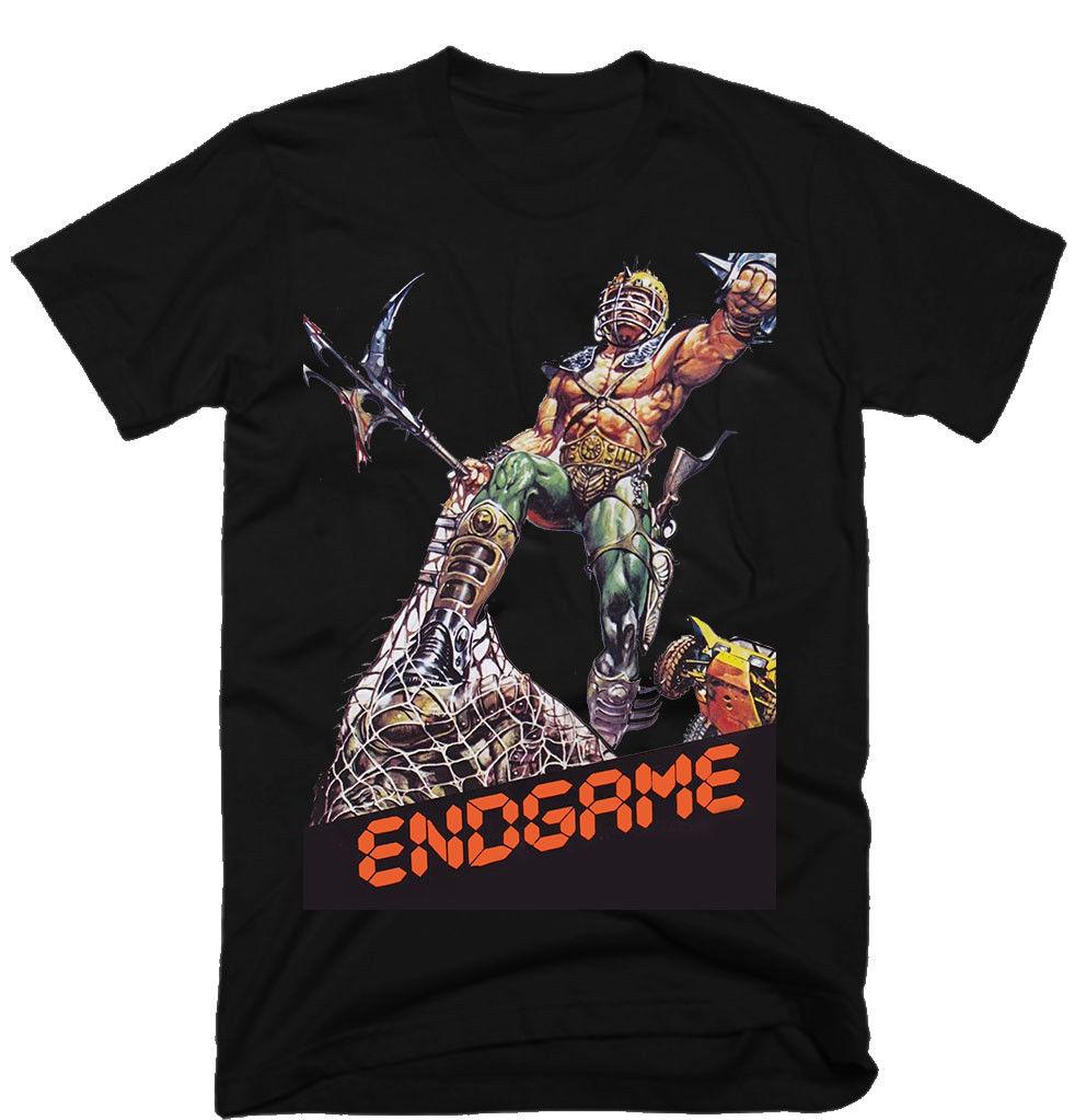 Endgame Mens Funny T Shirts Fitness Clothing Tshirt Cool Logo Tshirts Custom T-Shirts Mens Clothing