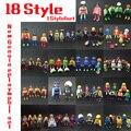 18 Estilo 7.5 cm Alemania Playmobil Muñecas Accesorios Arma Figuras Caballeros Gente Horses Figura de Acción de mini Ladrillos de Juguete Regalos