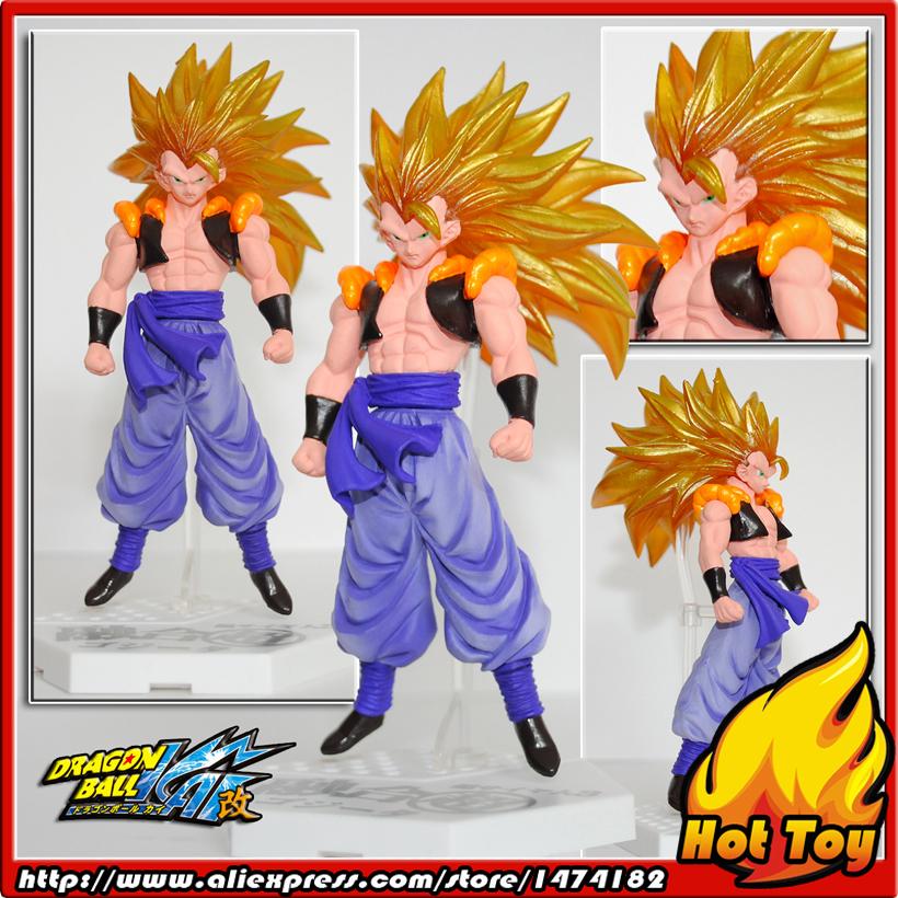 100% Original BANDAI Gashapon PVC Toy Figure HBG Part 1 - Gogeta Super Saiyan 3 from Japan Anime Dragon Ball Z sailor moon capsule communication instrument machine accessory gashapon figure anime toy full set 100