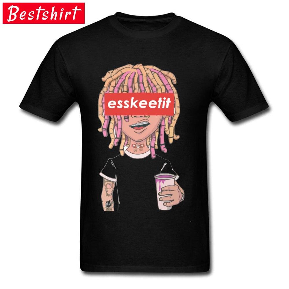 Hiphop Rap Lil Pump 666 Tshirts Esskeetit Merchandise Top Quality Singer Characters Printed T-Shirts Gang 2019 New Hot T-Shirts
