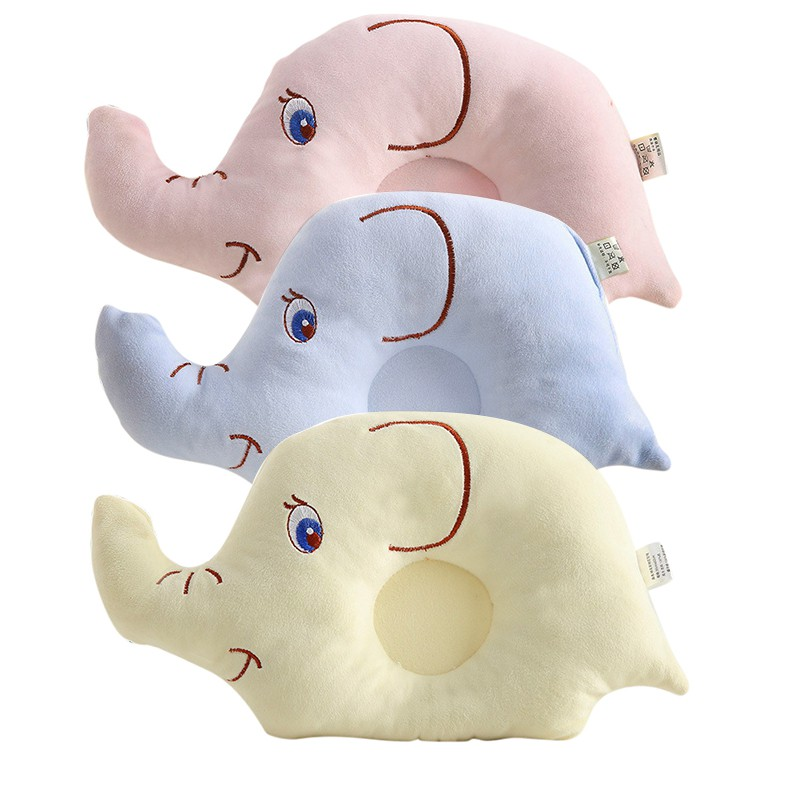 Hot Sale Baby Boys Girls Shaping Pillow Flat Head Sleeping Positioner Support Cushion Prevent Elephant Styling Hot Sale Pillow