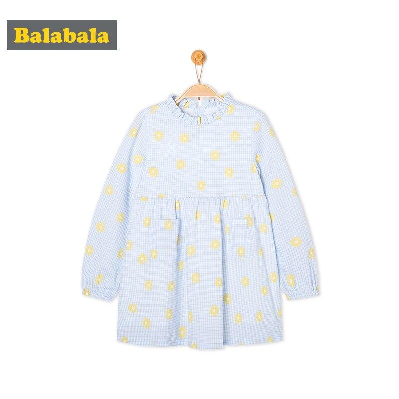 Товар balabala Baby Girl Dress 2017 New Casual Autumn Baby