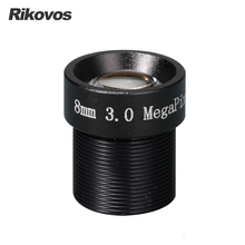 HD cctv lens M12  3MP 8MM 1/2.5″ F1.8  43 degree for security camera
