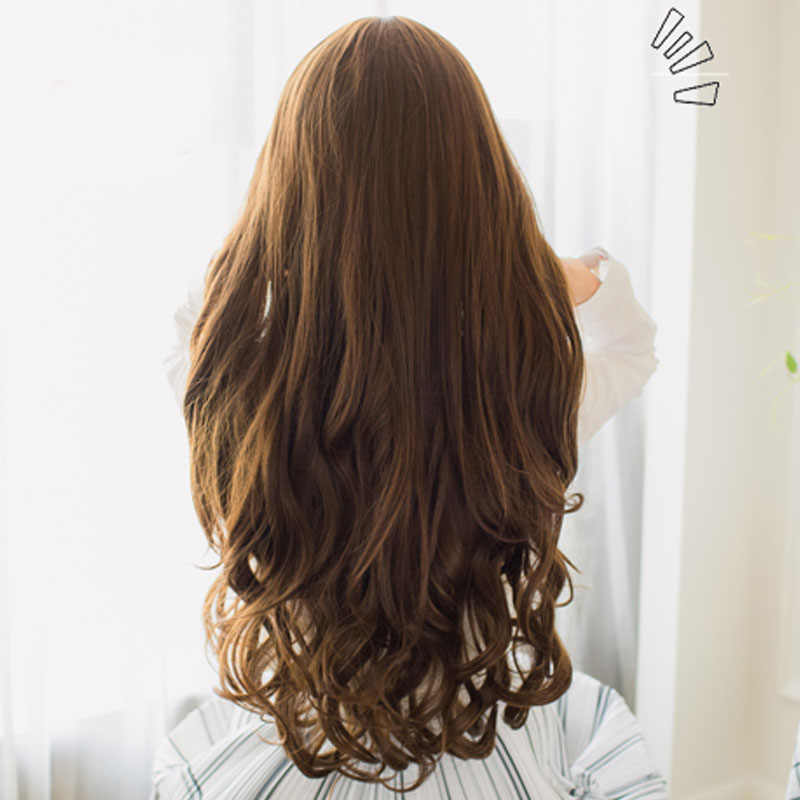 Detail Feedback Questions About Shangke 70cm 5 Clip In Hair