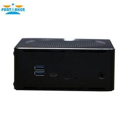 Причастником B18 DDR4 coffee Lake 8-го поколения мини ПК Intel Core i5 8300H i9 8950HK i7 8750H 64GB ram Mini DP HDMI WiFi
