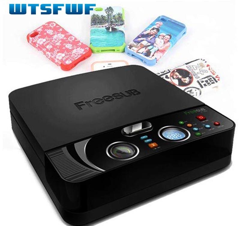 Wtsfwf ST-2030 3D Sublimation De Transfert De Chaleur Imprimante 3D Thermique Sous Vide Presse Imprimante pour Tous Les Téléphone Cas Sauf Ipad