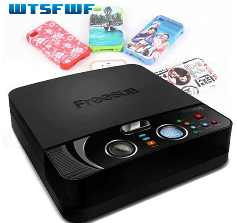 Wtsfwf ST-2030 3D Sublimation Heat Transfer Printer 3D Vacuum Heat Press Printer for All Phone Cases Except Ipad 1pc mould for 3d ipad case 3d vacuum sublimation machine heat press transfer