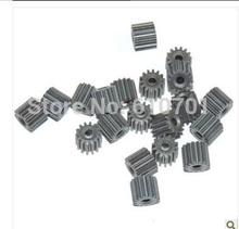 10 шт. Aslong 0.4 модуль 14 т зубы Двигатель Шестерни 6.1 мм daimeter 5.6 мм высота