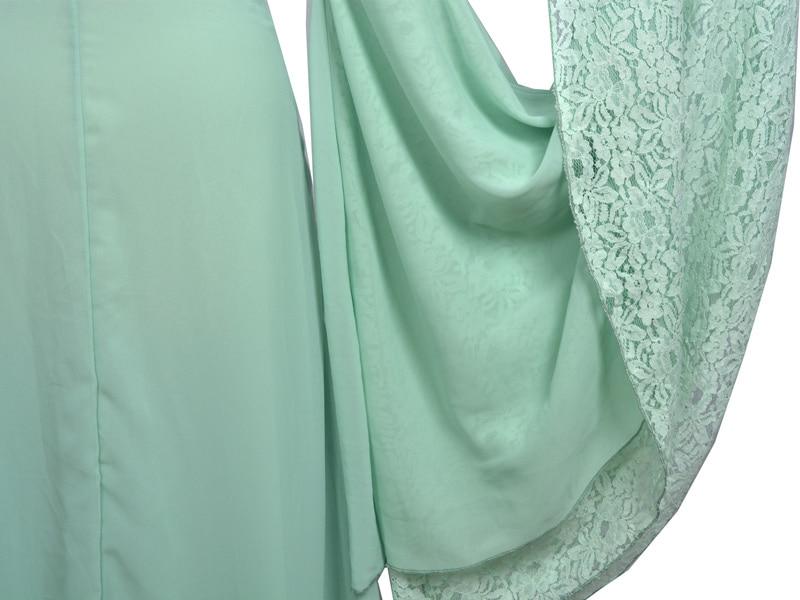 Властелин колец Arwen зеленое платье костюм платье ручной работы на заказ для женщин - 6