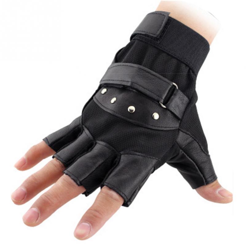 Men Fingerless Glovess