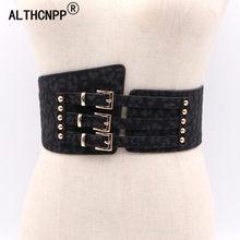 93d7bbcba72 Mode Léopard Corset ceinture Élastique large ceinture Pour Les Femmes  Manteau Robe Irrégulière Taille ceinture Femelle