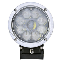 HOT Sale 5inch LED Work Light 45W Offroad Led 12 24V Light Portable Spot Flood Light