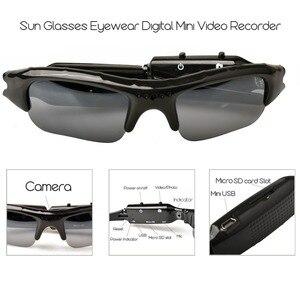 Image 4 - Lightdow Mini Occhiali Da Sole Occhiali Digital Video Recorder Macchina Fotografica di Vetro Mini Videocamera Video Occhiali Da Sole DVR