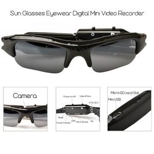 Image 4 - Lightdow Mini lunettes de soleil lunettes enregistreur vidéo numérique lunettes caméra Mini caméscope vidéo lunettes de soleil DVR