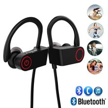X-DRAGON Black Bluetooth Earphone Sport Wireless Headphone Headset Handsfree with Mic for Huawei ZTE Xiaomi HTC Sony LG