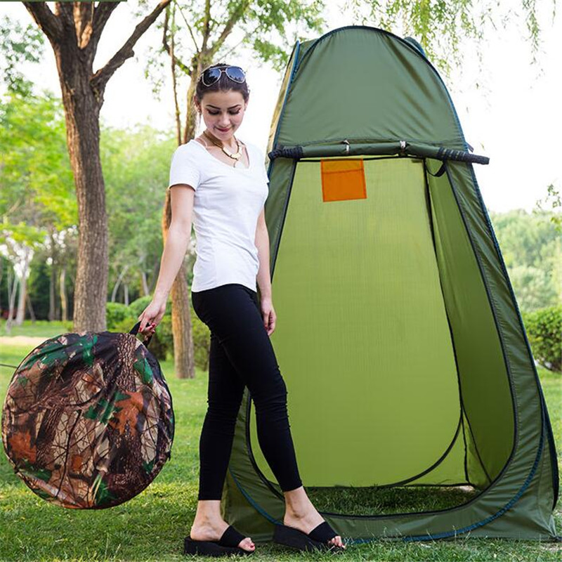 Portable Privacy Shower Toilet Camping Pop Up Tent Camouflage/UV Function Outdoor Dressing Tent/Photography Tent S027 highquality 6 ir lamps wired intercom one to one video doorbell 7 inch display video door phone support microphone&speaker d126b