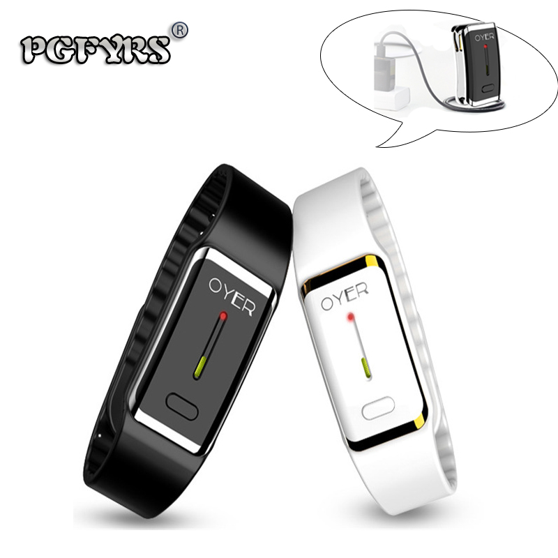 Couple fashion mosquito repellent Bracelet/Ultrasound electronic bionic wave mosquito repellent bracelet capsule Gift USB cable