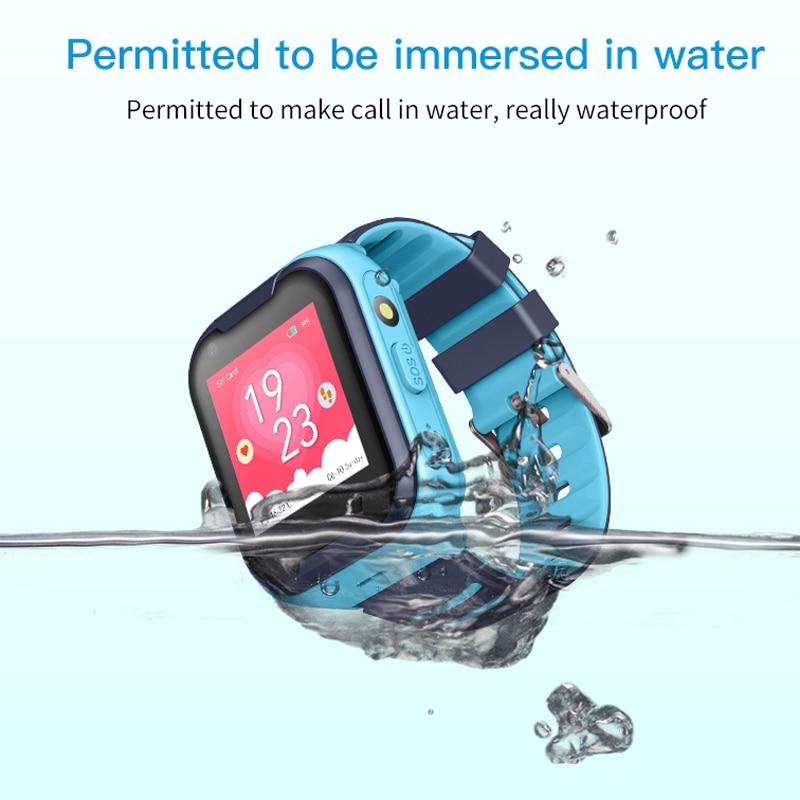 Image 3 - Kids Smart Watch 4G Wifi GPS Tracker Smartwatch Kids 4g Watch Phone Video Call Waterproof Smart Watch for Child Clock PK Q50 Q90-in Smart Watches from Consumer Electronics