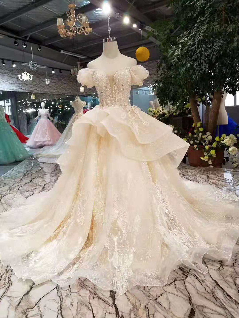 Smaller Wedding Dresses