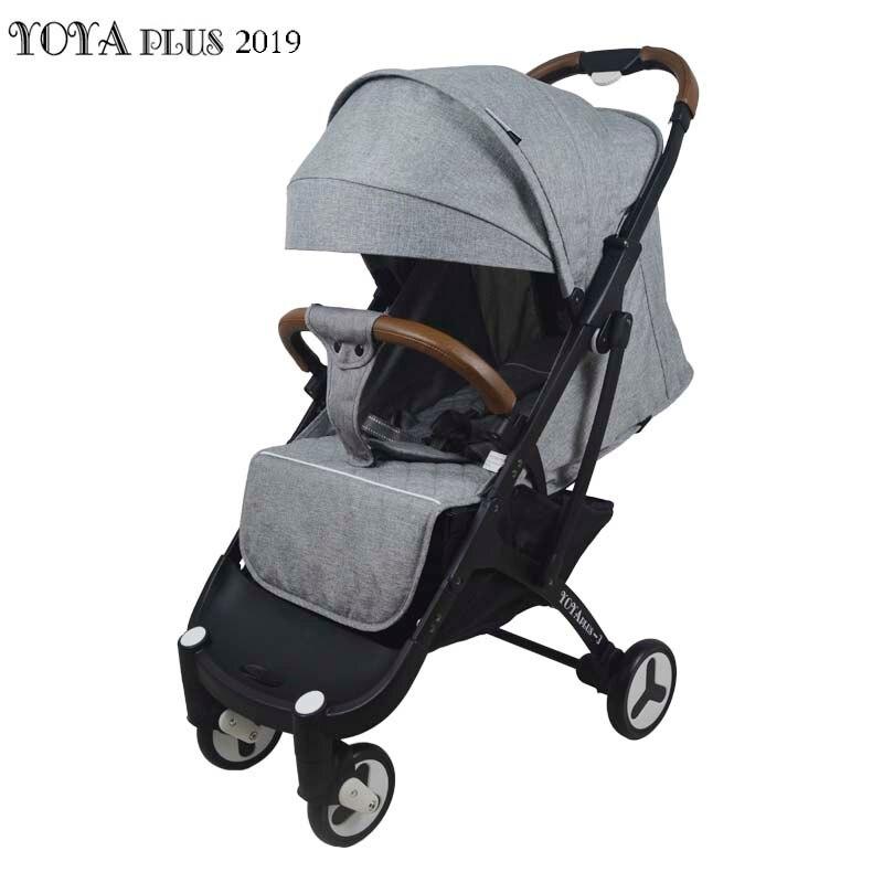 12 cadeaux gratuits Yoya Plus 3 poussette bébé légère pliante portable chariot de chariot été et hiver cadre noir