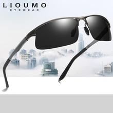 купить Aluminum Magnesium Polarized Sunglasses Men Outdoor Sports Fishing Sun glasses Male Night Driving  Eyewear gafas de sol hombre дешево