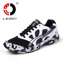 LEOCI 2016 Spring Summer Running Shoes For Men Light Weight Breathable Free Run Shoes Damping Sports Sneakers Shoes Running