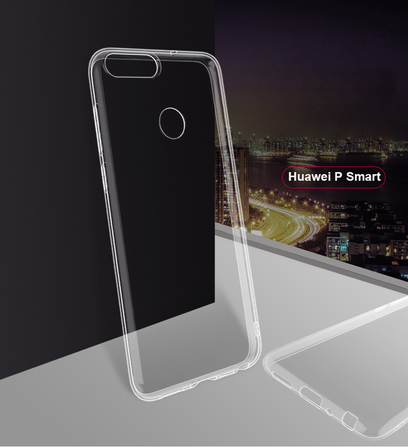 ultra thin transparent soft silicone tpu case for huawei honor 7a pro y9 2018 p smart 01