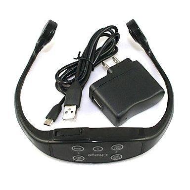 Nueva Tecnología IPX12 Impermeable Deportes Mp3 Auriculares de Conducción Ósea con Una Función de 8 GB de Capacidad Para Nadar o Bucear + FM Radio