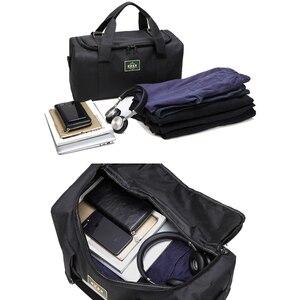 Image 4 - Bolsos de viaje de nailon para hombre y mujer, bolsas de viaje de gran capacidad, 2 tamaños, multifuncionales, para hombro