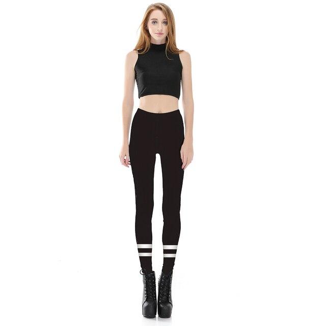 efaefd1e203a4 Nandi Poems Hot Sale Casual Women Horizontal Striped Leggings Popular  Elastic Sporting Legging Brand Women Fitness Pants Lgs3806