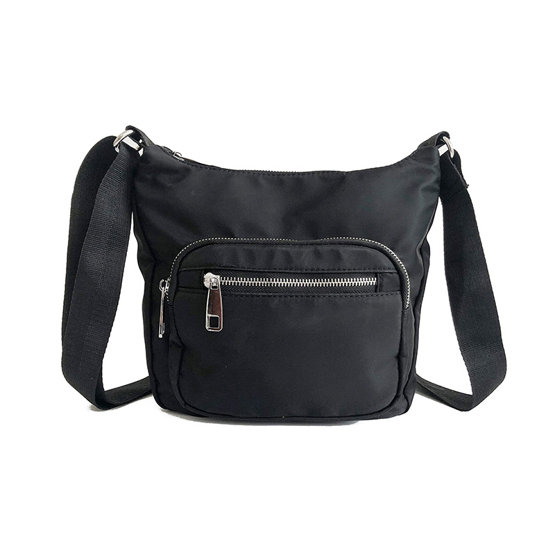 a91b33f4fbdc trendy crossbody bags le pliages black nylon sling bags for women small  purse casual shoulder bag pouch waterproof messenger bag on Aliexpress.com