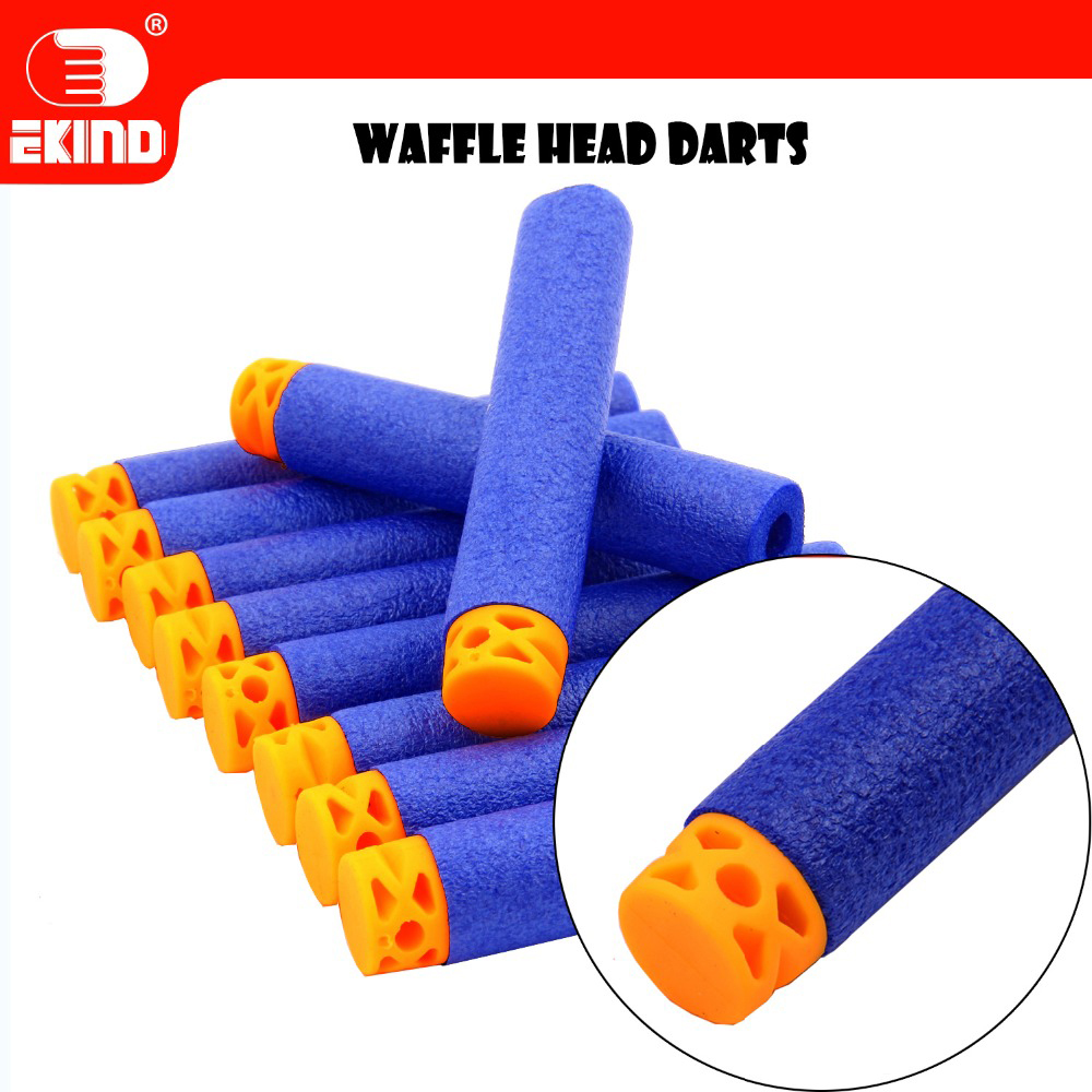 Waffle Darts Convenient Pack 7.2cm Refill For Nerf Series Blasters Kid Toy Gun