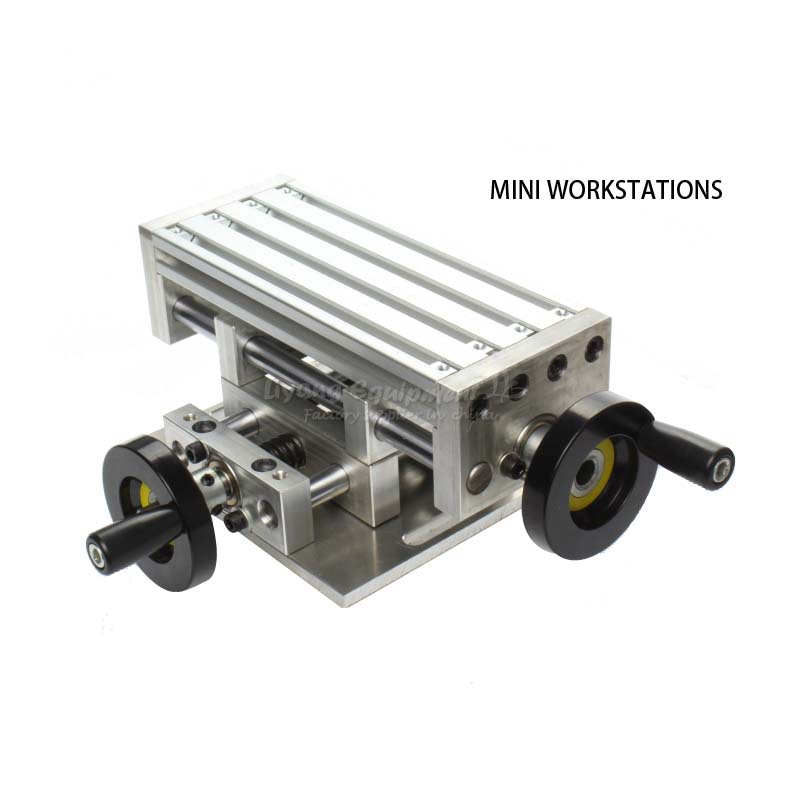 Free tax to Russia Miniature high precision multi-functional moving table workbench for cnc milling machine no tax to russia miniature precision bench drill tapping tooth machine er11 cnc machinery