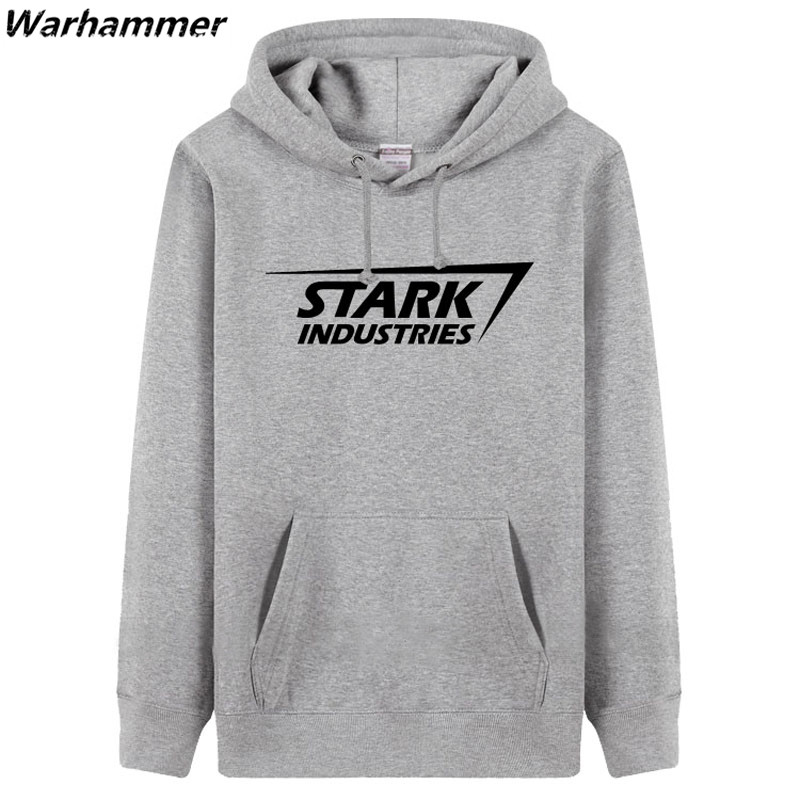 STARK INDUSTRIES Heren Hoodie Sweatshirts mode-stijl dikke fleece - Herenkleding - Foto 1