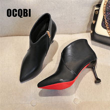 best website 37f4d dc7d1 Popular Red Bottom Ankle Boots-Buy Cheap Red Bottom Ankle ...