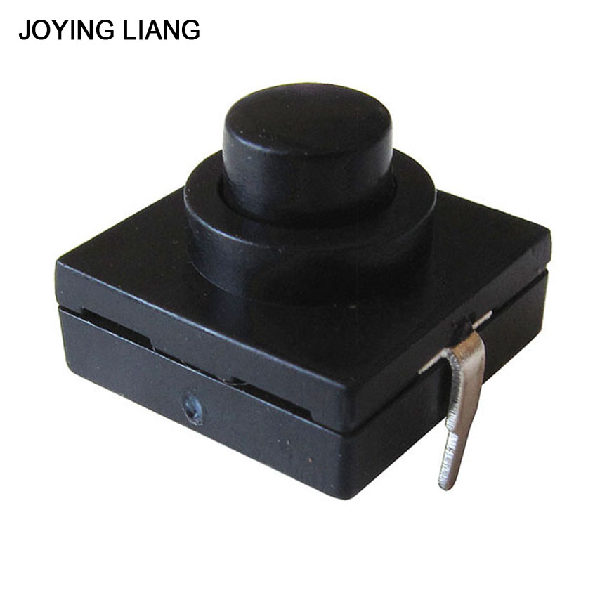 Joying Liang 3pcs/lot Strong Light Flashlight Switch CREE XPE Q5 T6 Electric Torch Switch 2 Feet ON/OFF Switches