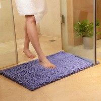 הצבע כתום שטיחים שטיחים לסלון חדר רחצה אנטי סליפ לכלוך עמיד שטיח דלת שטיח tapetes para casa 40x60 ס